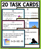 EXPRESSIONS AND EQUATIONS BELL RINGERS AND TASK CARDS
