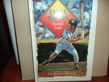 EXTRA INNINGS  BASEBALL POEMS      ISBN 0-15-226833-2