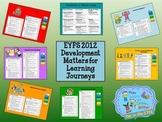 EYFS 2012 Development Matters assessment cards