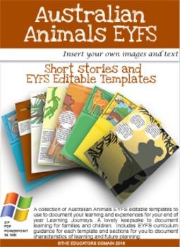 EYFS-Editable Leaning Journey Template- Australian Animals