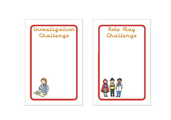 EYFS/Kindergraten Continuous Provision Challenge Cards (fit IKEA Tolsby Frames)