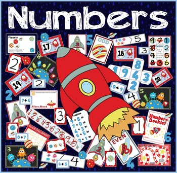EYFS NUMBERS COUNTING SPACE THEME RESOURCES EYFS KS1 ADDITION NUMERACY MA