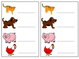 EYFS Simple CVC Writing Worksheets