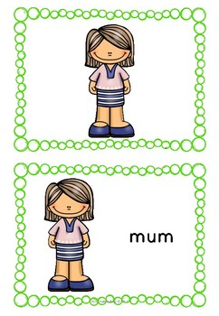 EYL Vocabulary Cards Pack 1... by Polly Puddleduck | Teachers Pay ...