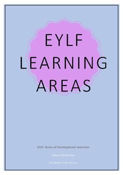 EYLF- Areas of development overview