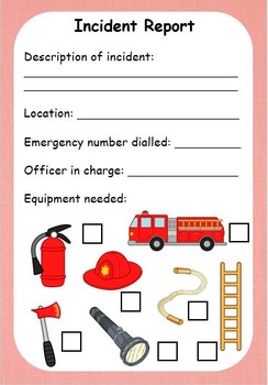 EYLF Community Helpers - Firefighters - Role Play, Activity and Programming Pack