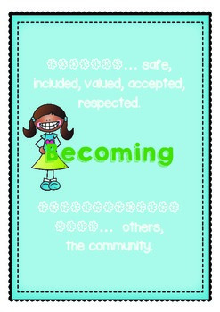 EYLF Early Years Learning Framework Poster Display