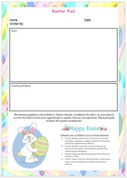 EYLF Easter Mega Activity, Programming and Poster Bundle
