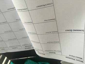 EYLF Educator Programming & Reflection Book - 25 weeks