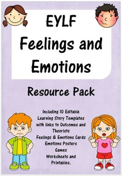 EYLF Feelings and Emotions Resource Pack