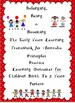 EYLF Learning Stories Template 1,2 & 3