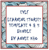 EYLF Learning Stories Template 4 & 5