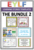 EYLF Learning Stories Templates Bundle 2