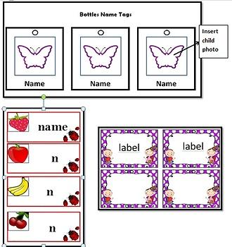 EYLF Learning Stories Templates Bundle 2