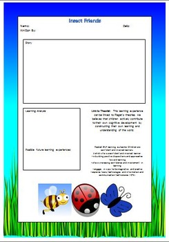 E.Y.L.F Learning Story Templates with Links to Theorists