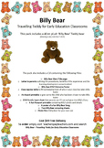EYLF Linked 'Billy Bear' Travelling Teddy for Early Education Classrooms CD ONLY