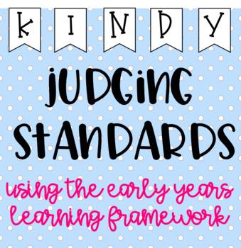 EYLF Outline & Assessment Pointers (Kindy Judging Standards)