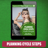 EYLF Planning Cycle Steps for Childcare, PreK, Family Chil