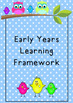 EYLF Posters: Early Years Learning Framework