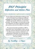 EYLF Principles Reflection and Action Plan
