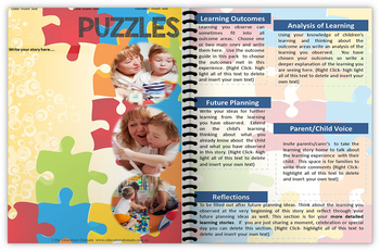 EYLF Puzzles and Free Poster