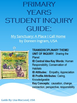EYP & PYP Student and Teacher Guides Bundle for My Sanctuary