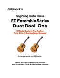 EZ Guitar Duets in First Position for Second Semester