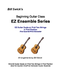 EZ Guitar Duets on First Two Strings in First Position