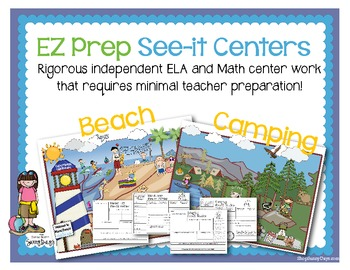 EZ Prep See-it Centers - Beach and Camping