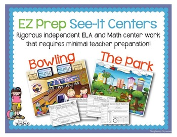 EZ Prep See-it Centers - Bowling and Day at the Park