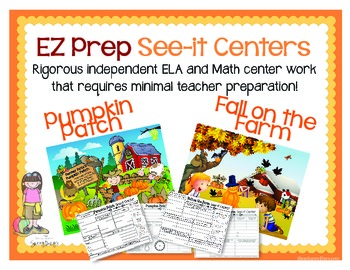 EZ Prep See-it Centers for Fall