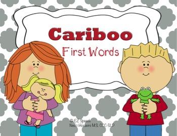 EZ Speech Cariboo First Words