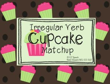 EZ Speech Irregular Verb Cupcake Matchup