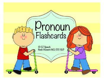 EZ SpeechPronoun Flashcards