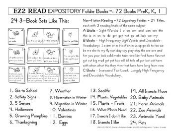 EZ2READ EXPOSITORY FOLDIE BOOKS®