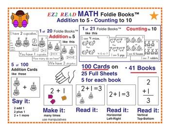 EZ2READ MATH FOLDIE BOOKS®