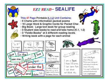EZ2READ® Sealife