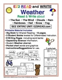 EZ2READ WEATHER UNIT PreK-K-1-2