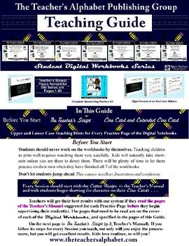 EZrABCs Digital Workbooks Teaching Guide