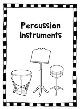 Percussion Instruments Lap Book