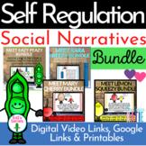 Self Regulation Social Stories - Identifying Feelings - Distance Learning