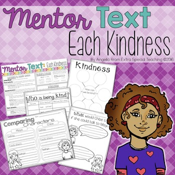 Each Kindness - A Mentor Text for Reading and Writing