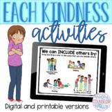 Each Kindness Lesson Plan, Digital & Printable Version