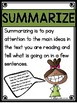 Each Kindness - Summarize and Question Comprehension Lesson
