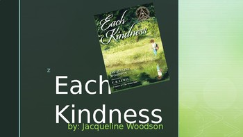 Each Kindness Vocabulary