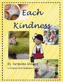 Each Kindness by Jacqueline Woodson-A Complete Book Response Journal