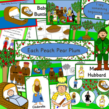 Each Peach Pear Plum story activity pack
