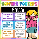 Éadaí Comhrá Pack - 20 posters, reference sheet and worksheet
