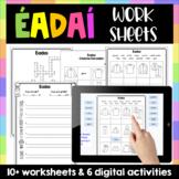 Éadaí Worksheet Pack - Gaeilge - Clothes