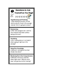 Eager Reader Comprehension Strategies Bookmark